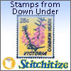 Stamps From Down Under - Pack